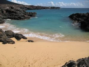 Comfortless Cove, Ascension Island. Image by Ben Tullis, Creative Commons Attribution 2.0 Generic license